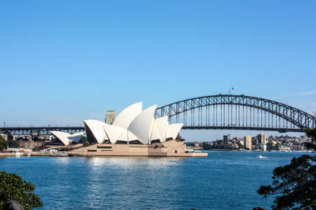 Sydney Opera House Sydney Harbour Bridge road bridge city Australia Sydney beautiful curve house people Habitat 1