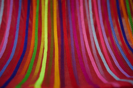 Photo for Seamless rainbow curved stripes color line art  background  Bend up - Royalty Free Image