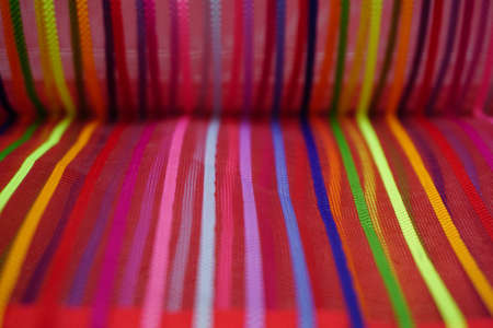 Photo for Seamless rainbow curved stripes color line art  background - Royalty Free Image