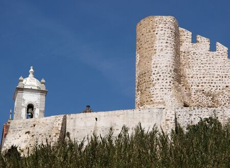 Castle and bell tower Sines