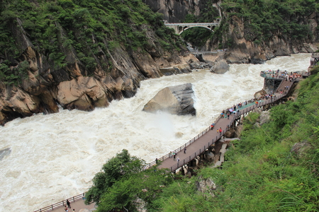 Jinsha River - Tiger Leaping Gorge