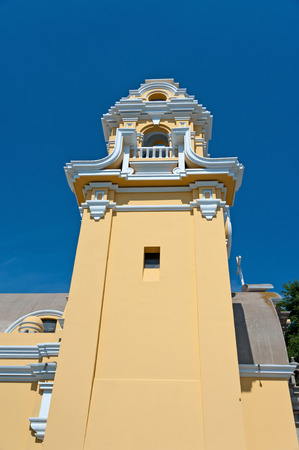 Lima, church in the district of Barranco