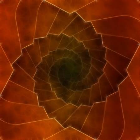 Spiral abstract brown background or texture