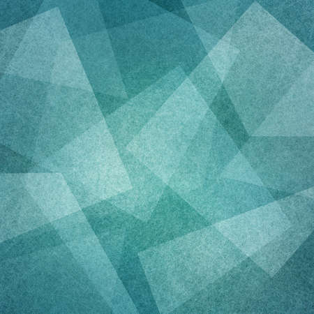 Photo for blue background with abstract squares angles and triangle layers in abstract geometric pattern for web and business designs - Royalty Free Image