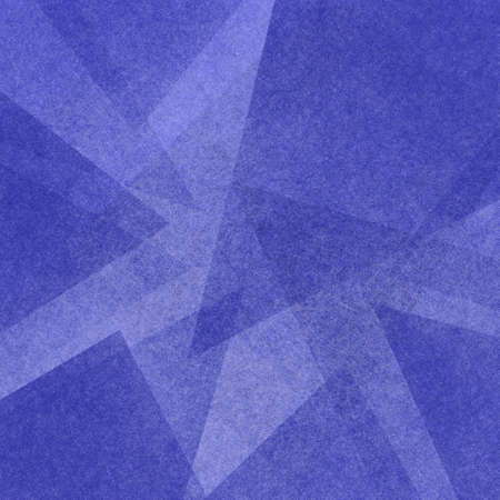 Photo pour blue abstract background with triangle layers in modern geometric pattern - image libre de droit
