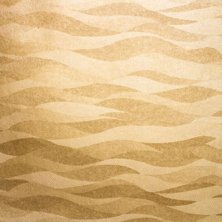 Wavy golden background texture
