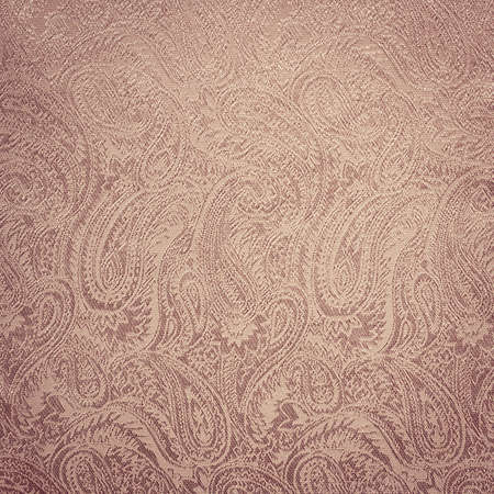 Pink paisley background texture