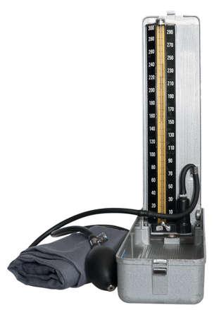 Retro Tonometer Isolated on White