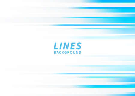 Illustration pour Abstract horizontal light blue stripe lines on white background. You can use for ad, poster, template, business presentation. Vector illustration - image libre de droit