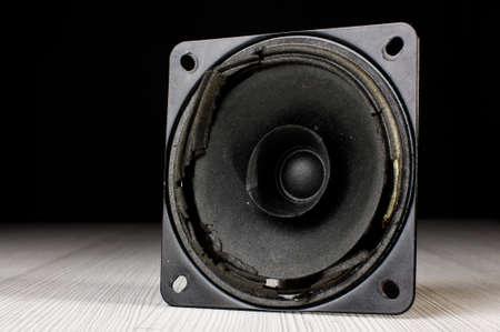 Muted speaker
