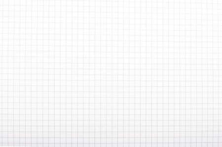 Squared math exercise book macro close up