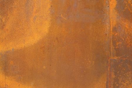 Photo pour orange color Corten steel texture and background - image libre de droit