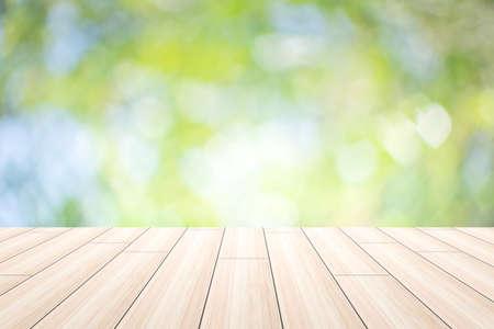 Foto de Scene  wood  background bokeh - Imagen libre de derechos
