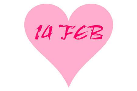 Heart February 14 Valentine's Day
