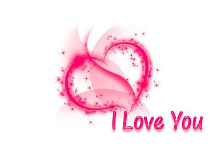 Heart I Love You Text