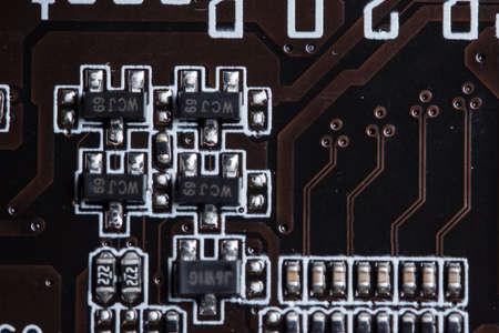 Photo pour Electronic chip - image libre de droit
