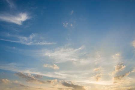 Photo pour Sky and clouds - image libre de droit