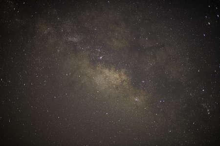 Foto de Sky background and stars at night Milkyway - Imagen libre de derechos