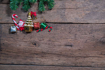 Foto per Merry Christmas concept background - Immagine Royalty Free