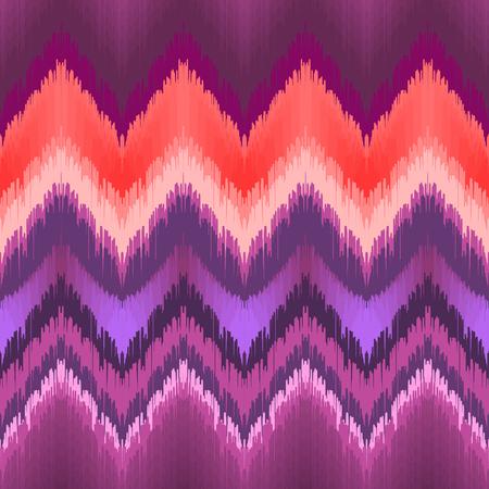 Purple ikat pattern