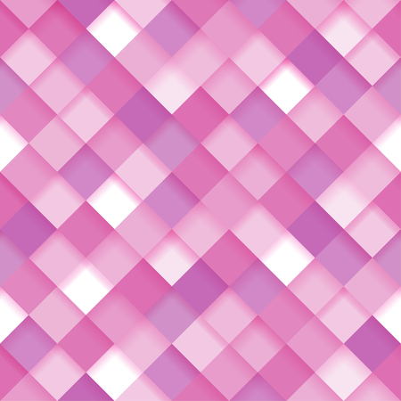 Abstract Geometric Background Seamless Pattern In Pink