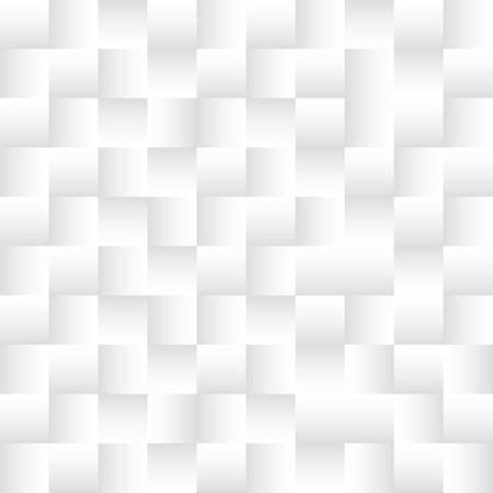Photo pour Square pattern 3d, White abstract geometric texture.  Art style can be used in cover design, book design, poster, cd cover, flyer, website backgrounds or advertising. - image libre de droit