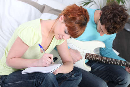 youth writing song