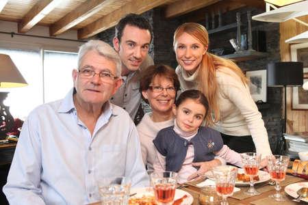 Photo pour family gathering - image libre de droit