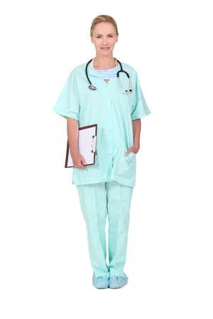 Portrait of nurse