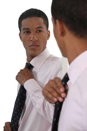Foto de Smart Afro-American businessman - Imagen libre de derechos
