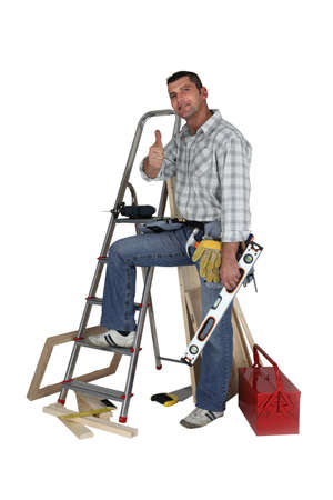 Photo pour Handyman - image libre de droit
