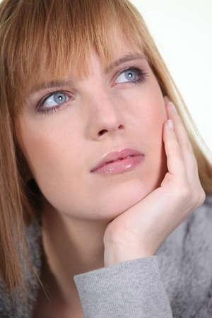Pensive woman