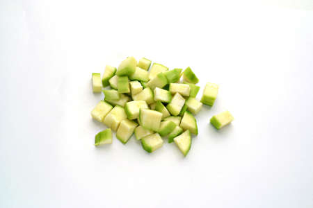 Diced vegetable