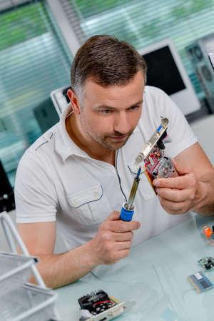 Repairing a broken video card