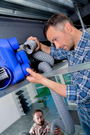 Installing new ventilation system