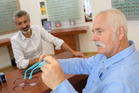 fixing the eyeglasses' coatings