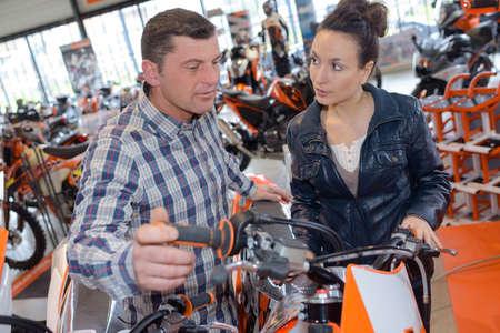 motorbike parts shop