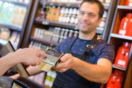 Photo pour close up of payment method - image libre de droit