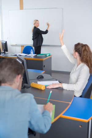 Photo pour students in class - image libre de droit