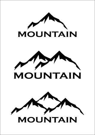 Illustration pour Mountain Symbol - image libre de droit