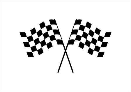 Illustration pour Flag Cross - image libre de droit