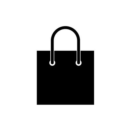 Illustration for Shopping bag icon. Shopping bag vector icon - Royalty Free Image