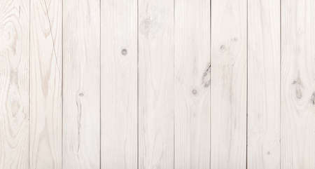 Photo for Weathered white wooden wall background. Wood paneling - Royalty Free Image