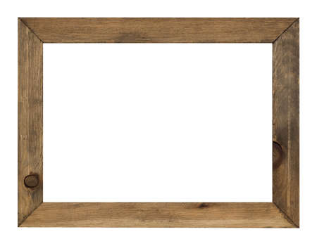 Photo for photo frame isolated on white background with clipping path - Royalty Free Image
