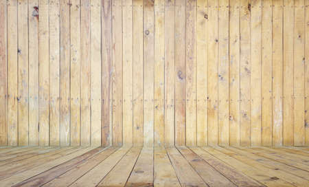 Photo for old room, wooden background, empty interior - Royalty Free Image