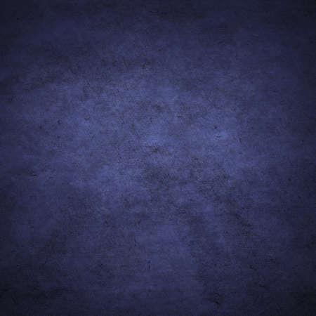 Foto de old dark paper, blue background - Imagen libre de derechos