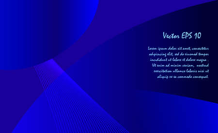 Abstract dark blue background for designer