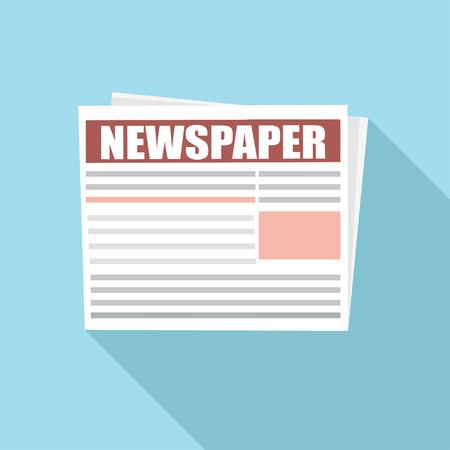 Business Newspaper  Vector newspaper template.