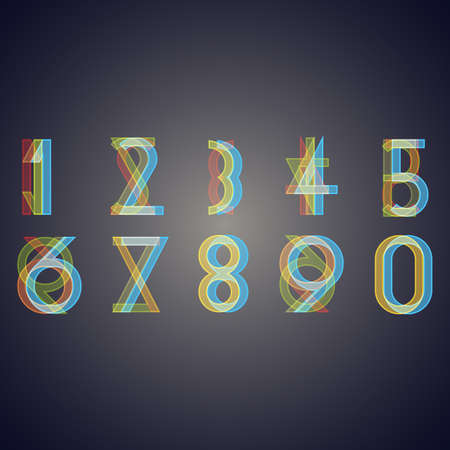 Numbers with effect of  interference