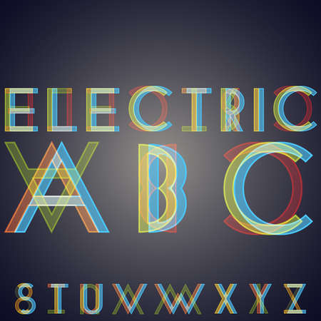 Alphabet with effect of  interference